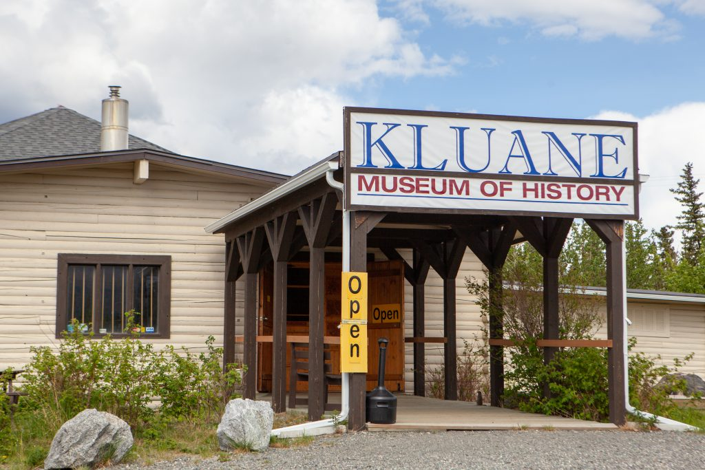 Front of the Kluane Museum of History