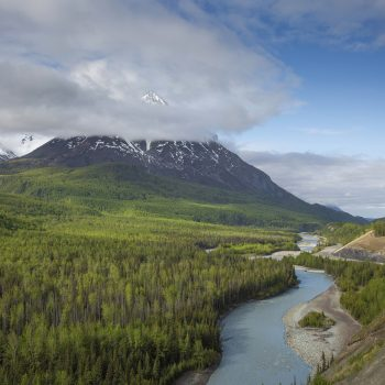 Along the Matanuska River