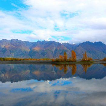 Knik River Reflection