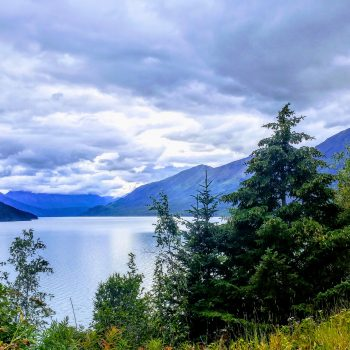 On the road to Seward