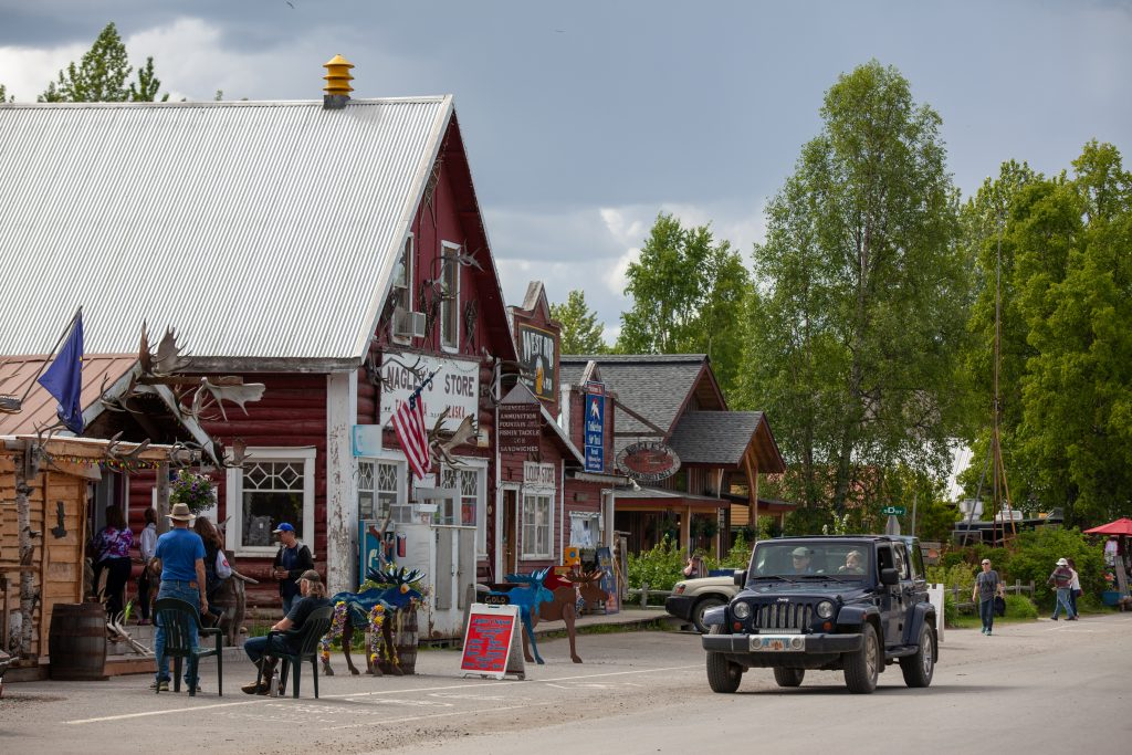Downtown Talkeetna and Nagley Store