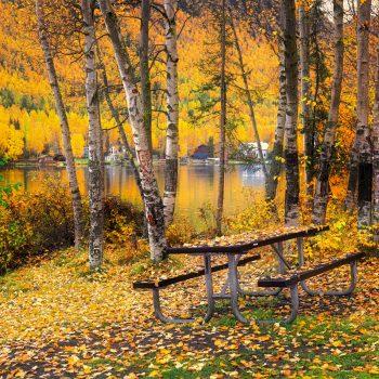 Autumn At Mirror Lake